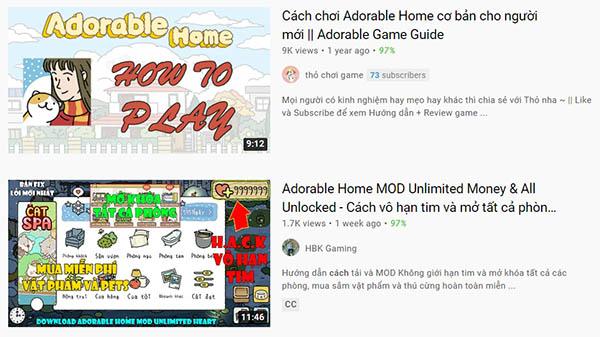 Kênh Youtube về game