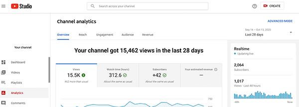 Tương tác với Content Youtube