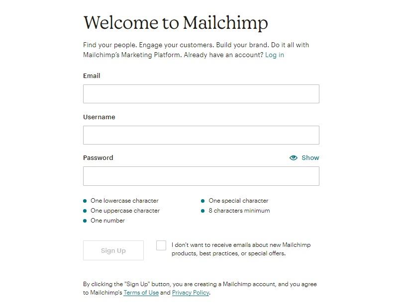 hướng dẫn sủ dụng mailchimp cơ bản