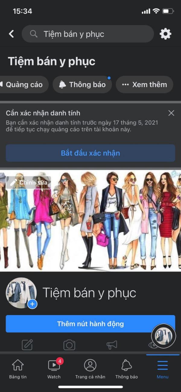 Cách lập trang bán hàng trên Facebook