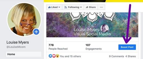 cách tăng tương tác trên Facebook cá nhân
