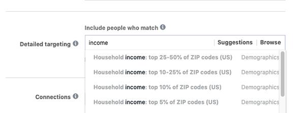 cách target Facebook