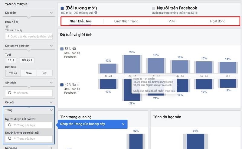 audience insight Facebook