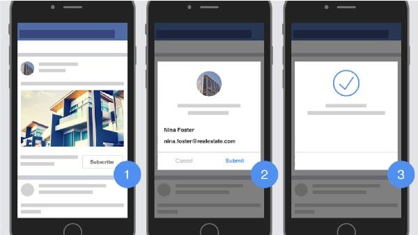 Facebook Lead Ads mobile