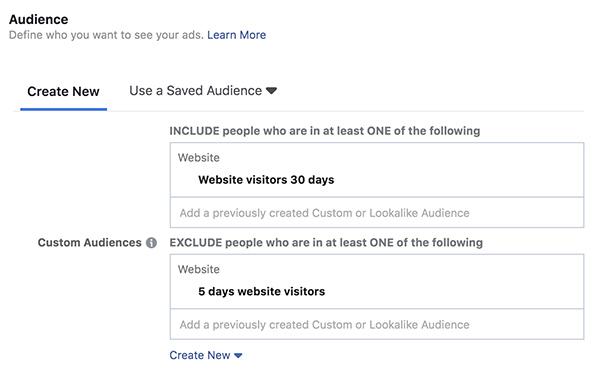nhắm mục tiêu Remarketing Facebook