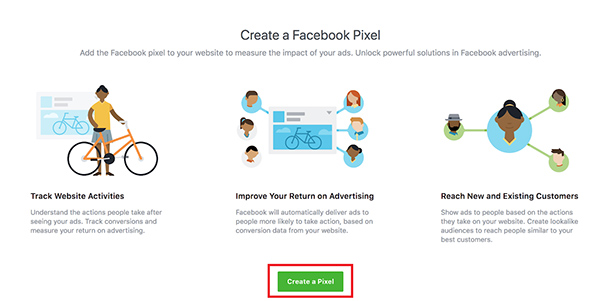 tạo facebook pixel cho dynamic ads