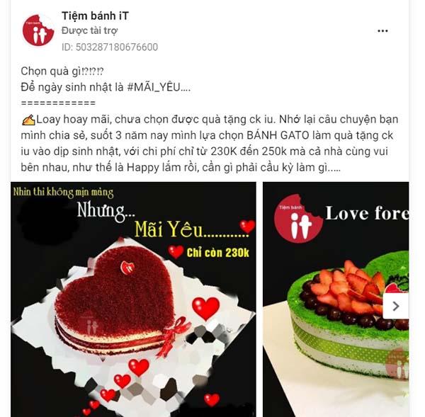 target Facebook ads của Roadie