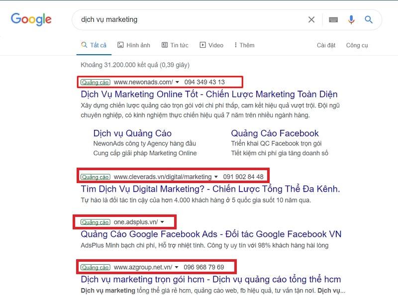 Google Adwords là gì? Tìm hiểu về 5 hình thức chạy quảng cáo Google Ads 2021