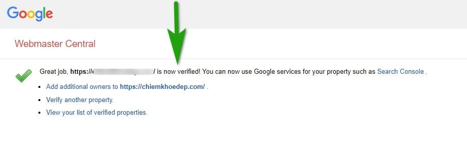 verify google search console yoast seo