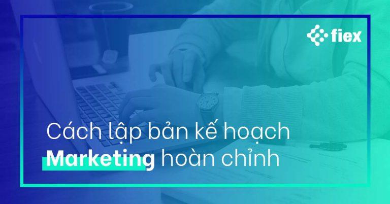 kế hoạch marketing