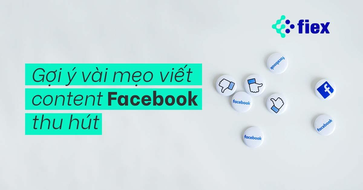 viết content facebook
